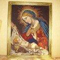La vierge et l'enfant jesus