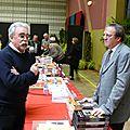 Pierre Brasme à la rencontre des auteurs invités