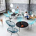 Une touche de vintage dans différents styles d'intérieurs avec le fauteuil en scoupidou..modèle