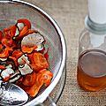 Sirop de radis noir et de carottes {anti-tussif, dépuratif}