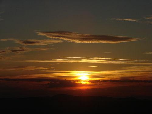 2008 08 11 Le levé du soleil depuis le sommet du Pic du Lizieux (24)