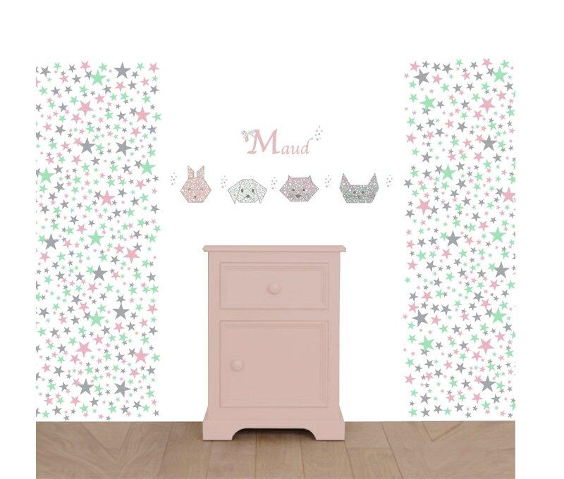 nouveaut papier peint toiles pour la chambre des enfants d coration chambre b b et cadeaux. Black Bedroom Furniture Sets. Home Design Ideas