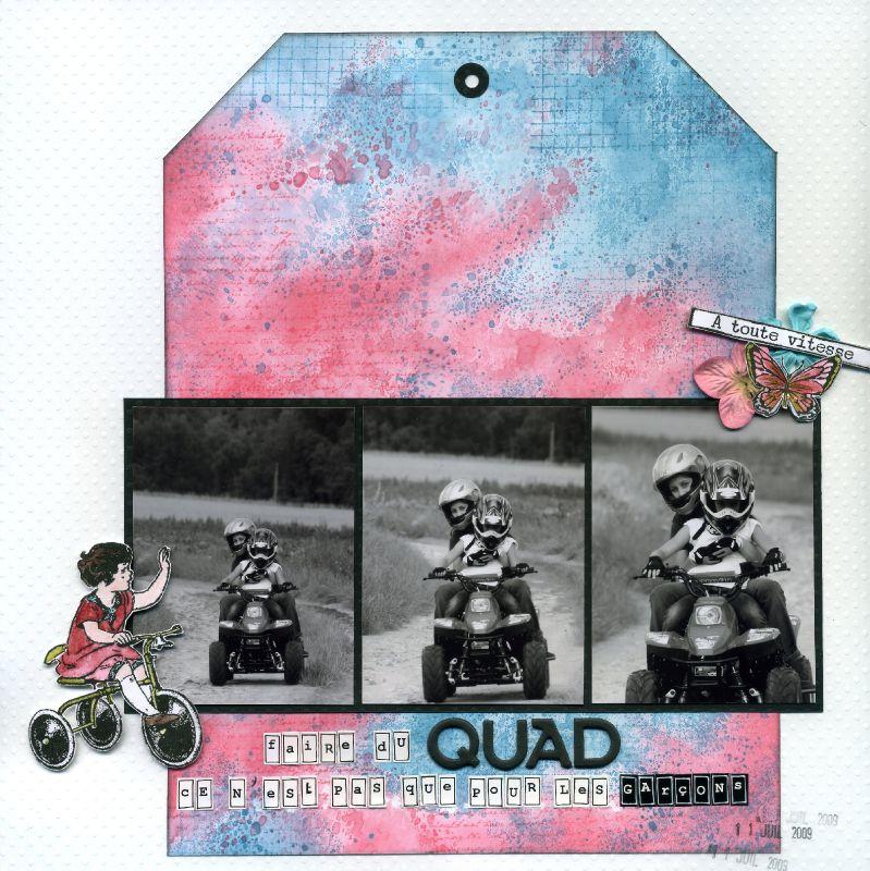 Faire du quad ce n'est pas que