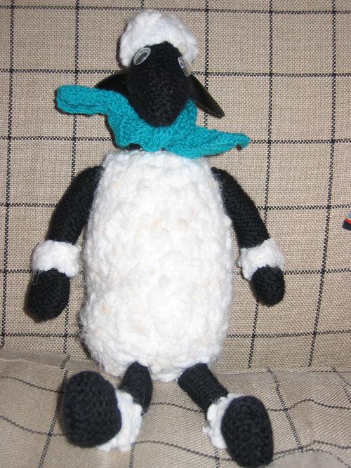 mouton - modèle Phildar