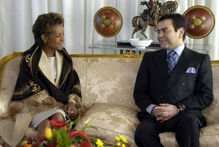 Prince Moulay Rachid has welcomed Her Excellency the Right Honourable Michaëlle Jean, the Governor General of Canada December 10, 2006