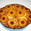 Mon gâteau à l'ananas !!!