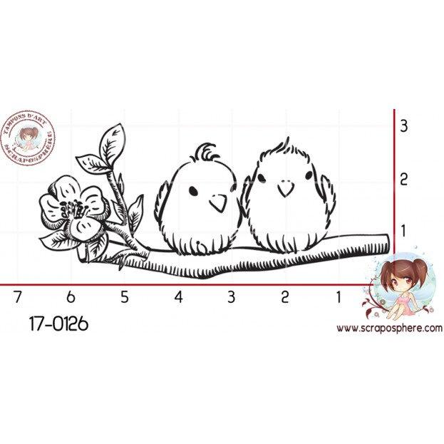 tampon-petits-oiseaux-sur-branche