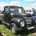 Barkas v901 pick-up 1958