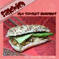 Sandwich aux saveurs indiennes (poulet, curry & chutney)