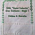 Sal st valentin chez sablaise85 : étapes 1 et 2
