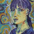 Autoportrait hommage à van gogh