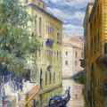 <b>Russian</b> Master 'first half of the 20th C). View of Venice.