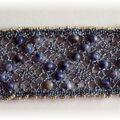 bracelet bleu jean's
