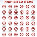 L'organisateur dévoile la liste des objets interdits dans la salle de l'eurovision 2018... des précisions s'imposaient... ou pas