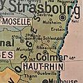 le temps des choses au coeur de l'Alsace ..entre Strasbourg et Colmar sur la route des vins