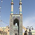 Iran - Histoire et architecture (9/19). Les Mongols et les Ilkhânides (1221 / 1355) - La Mosquée du vendredi (Yazd).