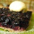 My blueberry pie, comme dans le film.