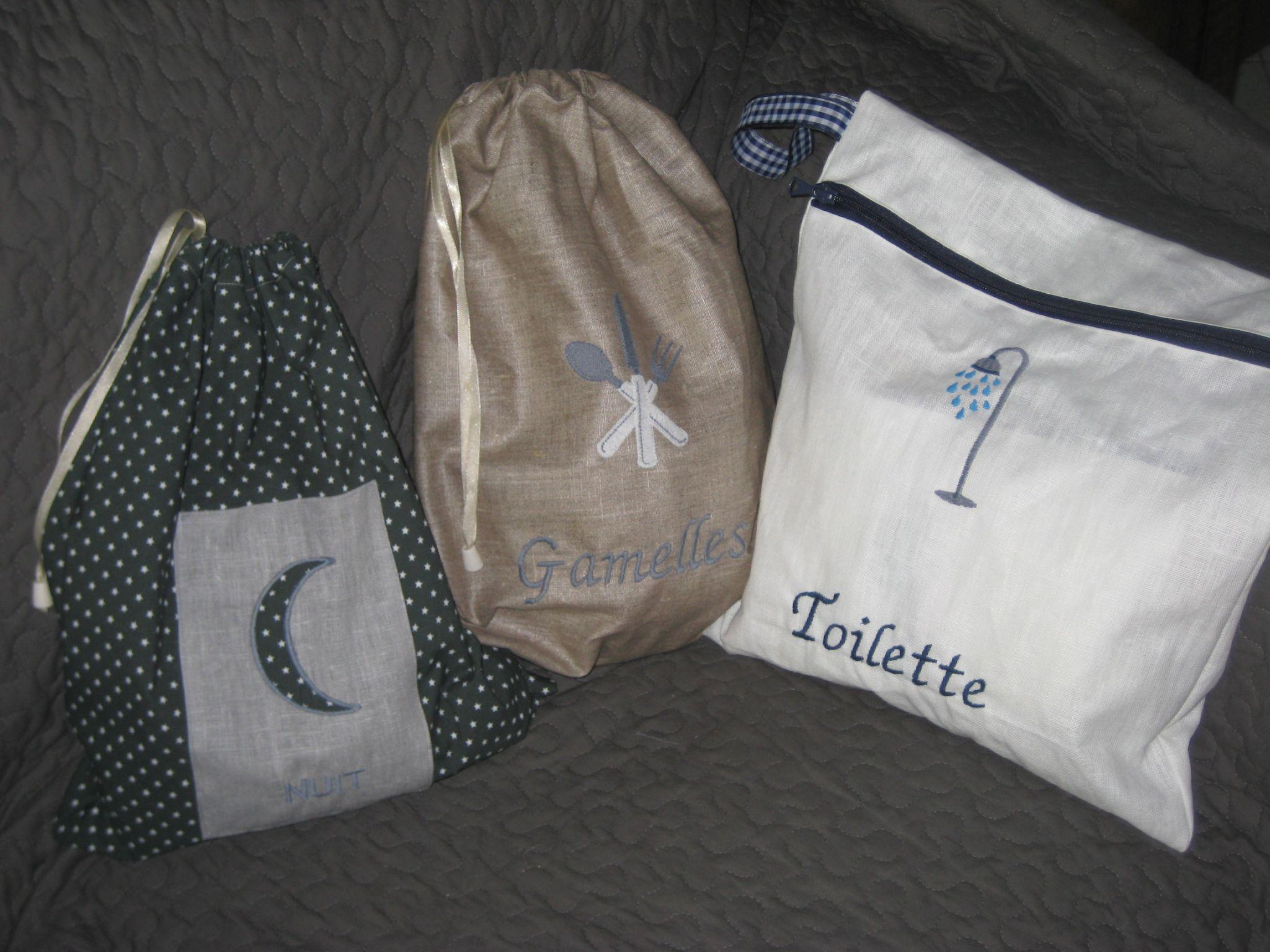 sac de camp scout