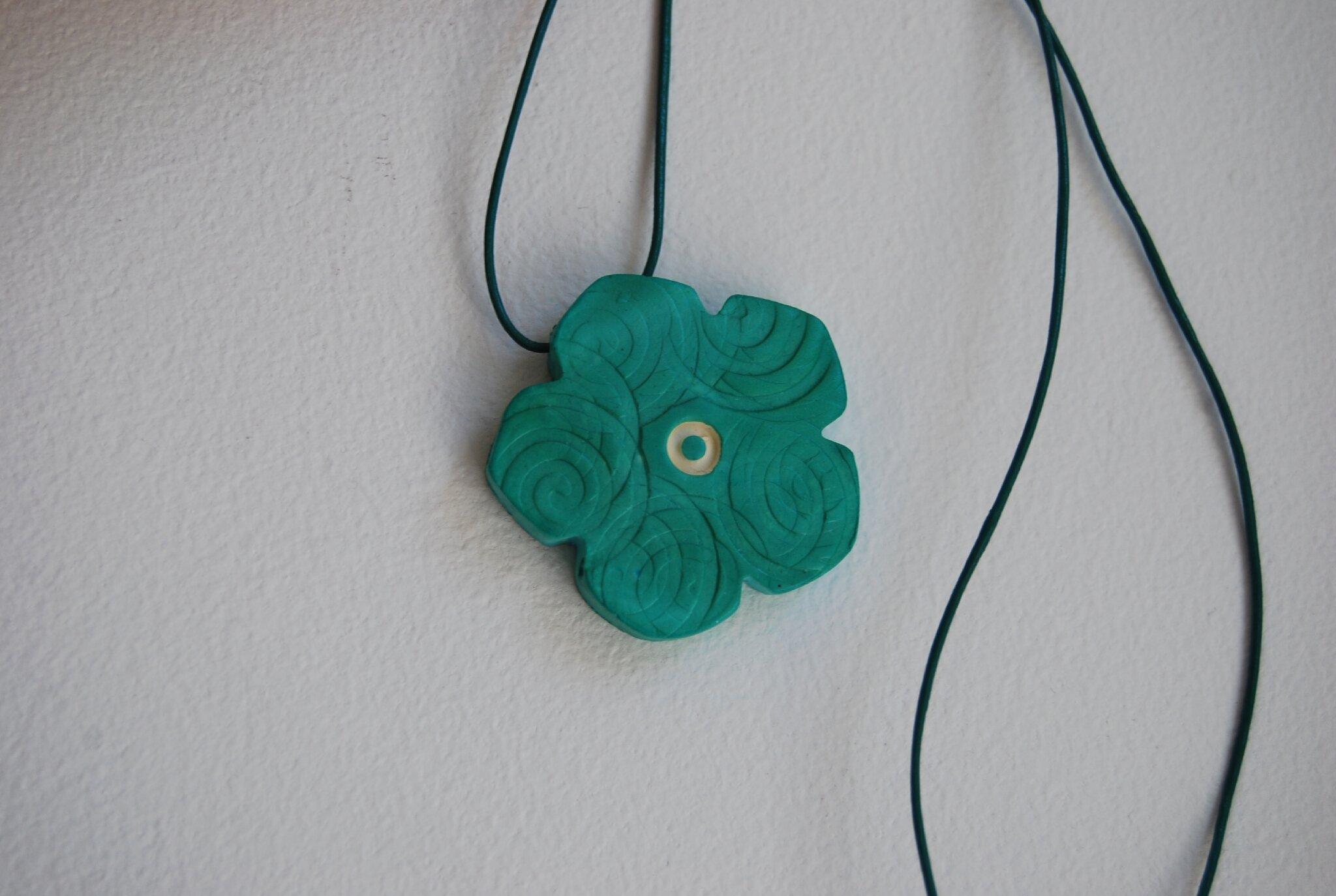 fleur verte (dispo)