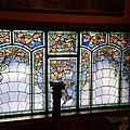 Quelques jours dans l'est, quelques sublimes vitraux de l'école de nancy