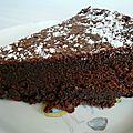 gateau au chocolat sans beurre
