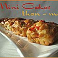Mini-cakes thon & maïs