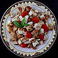 Salade boulghour-poulet