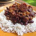 Chili boeuf chorizo