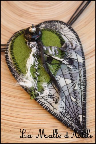 collier feuille gris (7)