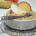 Compote pomme & banane aux épices