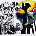 La obra de Camilo Henriquez Van-den-Borght, pintor, escultor, muralista, grafista y escritor.