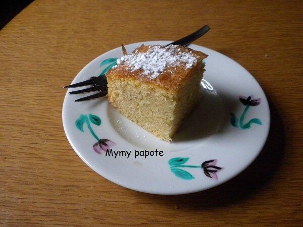 Gâteau vanille/coco