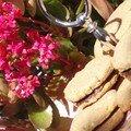 Double cookies pistache au coeur fondant de chocolat