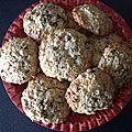 Cookies banane beurre de cacahuète et flocons d avoine
