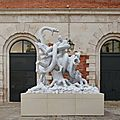 Treasures from the wreck of the unbelievable: damien hirst's mythological extravaganza in venice