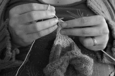 Les manies de Mélanie-tricoteuse
