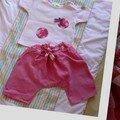 sarouel et tee-shirt customisé