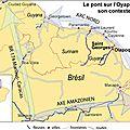 France/guyane - l'oyapock : le pont, extraits choisis