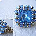 434a Riva aquamarine et saphir
