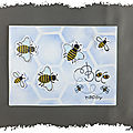 cARTe animée à secouer : Bee Happy
