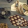 Accessoire cravate en soie