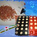Petites bouchées au jambon sec et parmesan