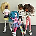 Monster high customisées :