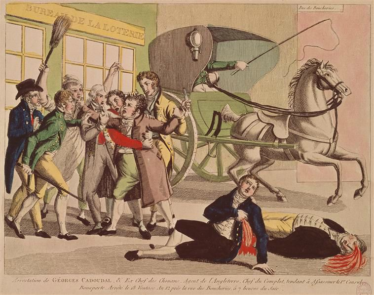 Arrestation de Georges Cadoudal