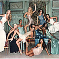 1994, The Queens pour Versace par Michel Comte