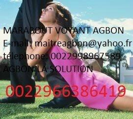FEMME amoureuse MARABOUT AGBON