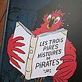 Les trois pires histoires de pirates, de Thomas Bretonneau et <b>Perceval</b> Barrier