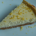 <b>Cheesecake</b> au citron...