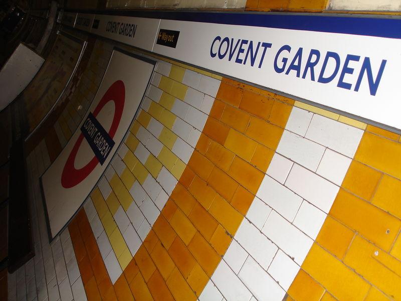 London Underground : Station Covent Garden