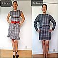 Transformation d'une robe: <b>upcycling</b>